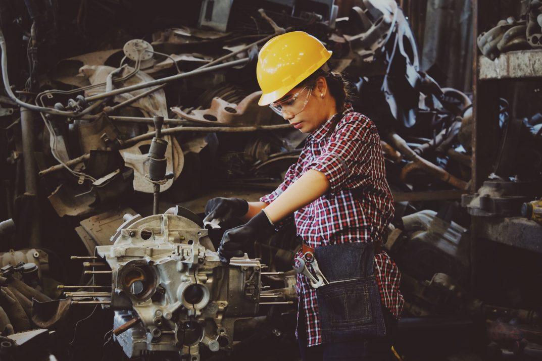 Woman in engineering