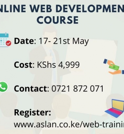 Web Development Course for Form Four Leavers